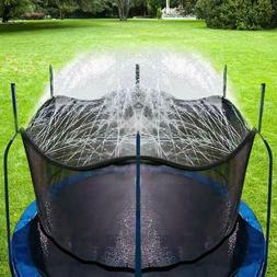 Outdoor Trampoline Water Play Sprinklers Kids Summer Fun Gam