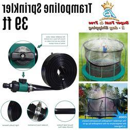 Outdoor Trampoline Water Play Sprinklers Pipe Fun Game Water