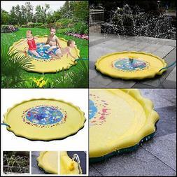 Outdoor Water Play Sprinklers Sprinkle and Splash Play Mat T
