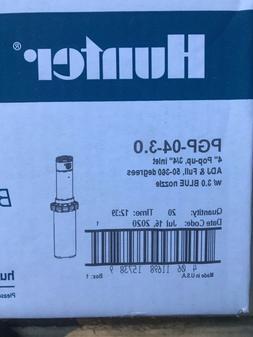 Hunter PGP-04 ultra sprinkler heads 3.0