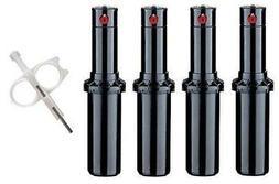 Hunter PGP-adj Rotor Sprinkler Heads - 4 Pack - Includes Adj