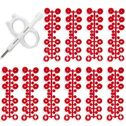 Hunter PGP Rotor Sprinkler Nozzle 10-Pack Red
