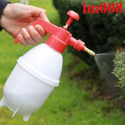800ml Portable Pressure Watering Can Garden Plant Spray Bott