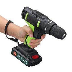 25V Power Cordless Impact Drill Driver Electric Screwdriver