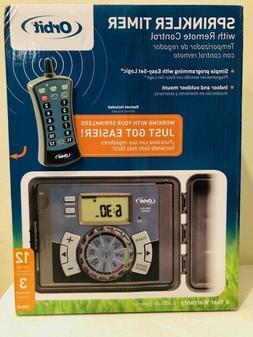 Orbit Programmable 12 Sprinkler Timer Electronic Boxed-Mfg#