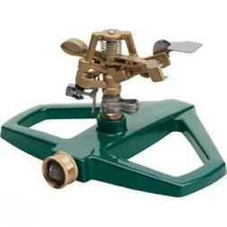 Melnor 3900H Metal Pulsating Sprinkler - Metal, Steel, Brass