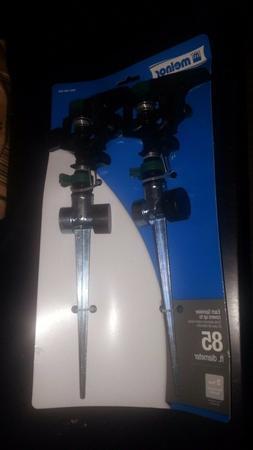 Melnor Pulsator Sprinkler with Zinc 2-Way Spikes  308593 - N