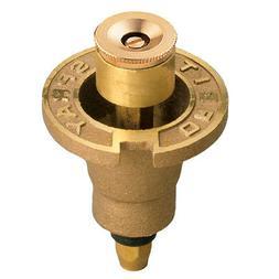 Circle Brass Pop-Up Sprinkler Head - Size: Quarter