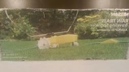 Nelson Rain Train Cast Iron Traveling Lawn Sprinkler Tractor