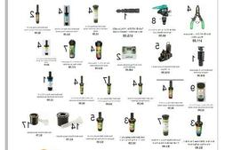 rainbird sprinkler system parts and accessories over