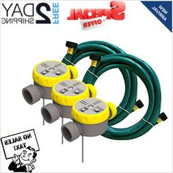 Rainscapes Outdoor Lawn Watering System 50182 Sprinkler Kit