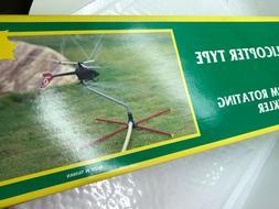 Rotating Helicopter  Sprinkler - Vintage Lawn Sprinkler New