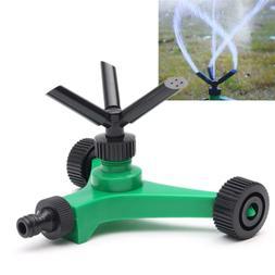 rotating impulse sprinkler garden lawn grass watering