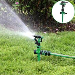 Rotating Plant Lawn Impulse Sprinkler Hose Pipe Water Gun Ga