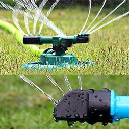 rotation lawn sprinkler garden