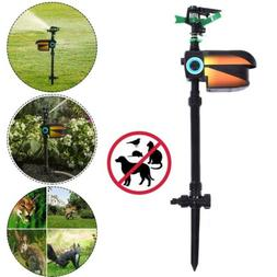 Solar Powered Motion Activated Animal Repellent Sprinkler Sc