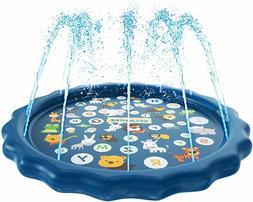 Splash Pad 3-in-1 Sprinkler pool for wading for Babies Toddl