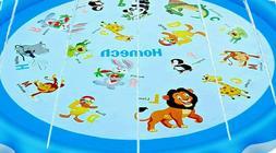 Homech SPLASH PAD Sprinkler Fun ANIMAL Design Toddler Summer