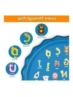 Jasonwell Sprinkler for Kids Toddlers Splash Pad Play Mat 60