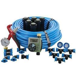 Orbit Sprinkler System Kit In-Ground Timer Plastic Watering