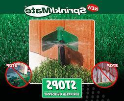 SPRINKLMATE Sprinkler Shield - Overspray Deflector - NO BOX