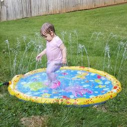 Summer Children Play Toy Inflatable Outdoor Water Spray Mat