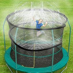 Trampoline Sprinkler, Outdoor Trampoline Water Play Sprinkle