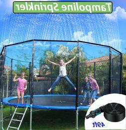 Trampoline Sprinklers for Kids Trampoline Water Park Summer