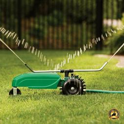 Traveling Lawn Sprinkler Orbit Yard Water Tractor Automatic