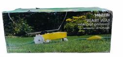 traveling sprinkler raintrain 13500 square feet yellow