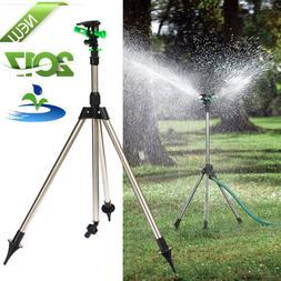 Tripod Impulse Lawn Sprinkler Pulsating Telescopic Watering