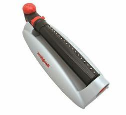 RAINWAVE Turbo Gear Oscillating Sprinkler Set with Timer, Co
