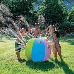 POKONBOY Ultimate Beach Ball Sprinkler Outdoor Colorful Wate