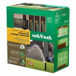 In Ground Lawn Sprinkler System Kit Under Garden Back Yard A