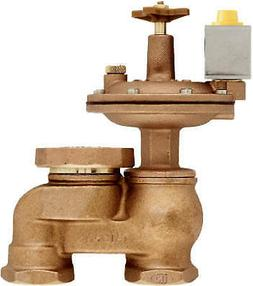 Underground Sprinkler Automatic Anti-Siphon Valve, Brass, 3/