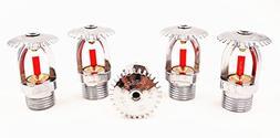 Ankong®Standard Upright Fire Sprinkler Head 1/2NPT 68 Centi