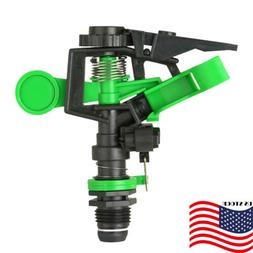 US 360° Adjustable Lawn Sprinkler Head Garden Grass Impulse