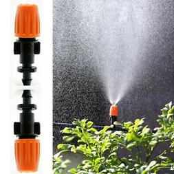 US 50pcs Garden Irrigation Adjustable Misting Micro Flow Dri