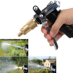 US Garden Watering Hose Spray Gun Pistol Grip Trigger Brass