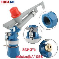 "Water Irrigation Spray Gun 1""DN25 360° Adjustable Sprinkler"