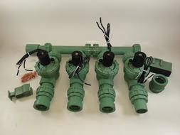 Orbit Water Irrigation Sprinkler Garden System 4-Valve Fully