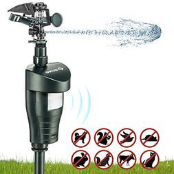 Ebung Water Jet Animal Repeller – Motion Detector Deterren