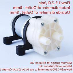 Actmei Water Pressure Pump 12v DC 1.5-2L/m 385 Series Diaphr