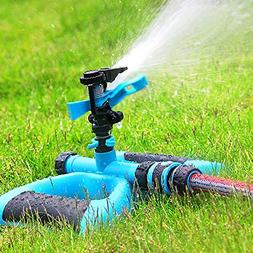 Macoku Water Sprinkler, Long Range Sprinkler Irrigation Wate