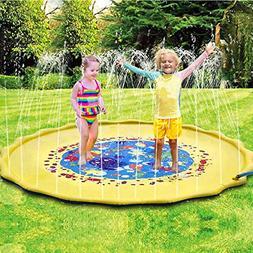 Water Sprinkler for Kids Sprinkler Pad & Splash Play Mat Wat