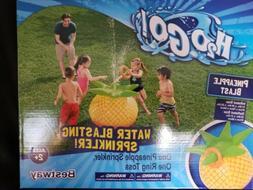 Water Sprinkler Pineapple Blast Outdoor Toy Ring Toss Pool P