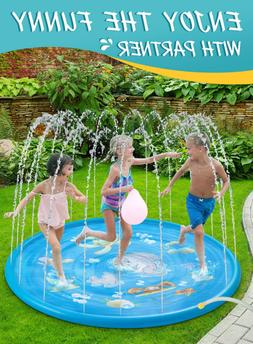 Water Sprinkler Toy Kids Children Boy Girl Outdoor Outside S