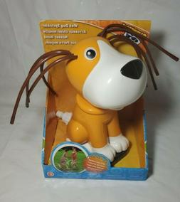 Water Sprinkler-wet dog shakes his head, 9.5 in. Tall
