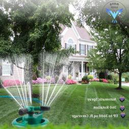 Water Sprinklers for Garden Lawn Park Yard, Automatic 360 Ro