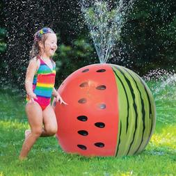 Watermelon Ball Sprinkler Inflatable Outdoor Toys For Kids T